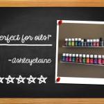 Pretty Display Nail Polish Racks Amazon Review from Ashleyelaine