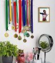 acrylic medal holder