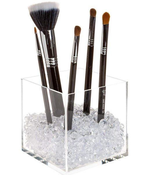 affordable makeup brush holder