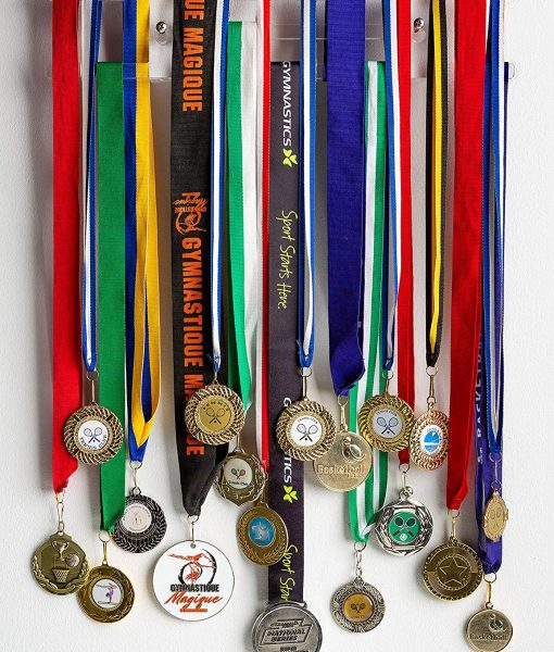 Acrylic Medal Holder Can Hold Up To 30 Or More Medals