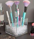 makeup brush holder for vanity