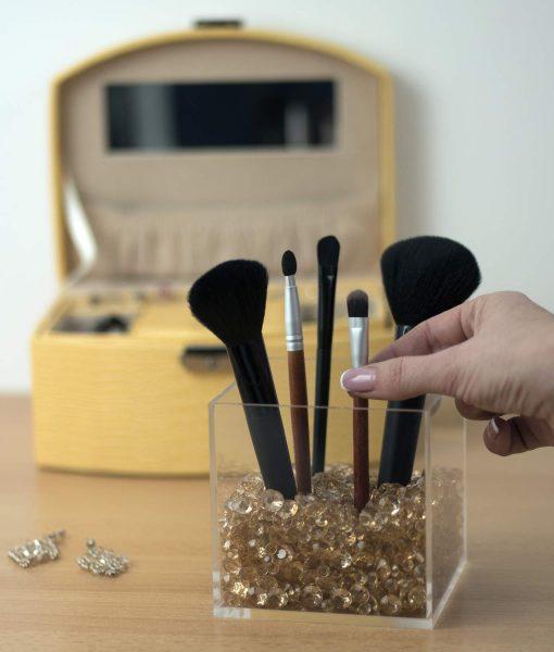 sale acrylic makeup brush holder