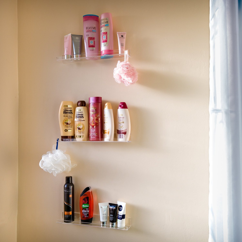 Acrylic Spice Rack Suits Every Kitchen Style 3 Shelf Set