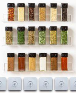Adhesive Spice Rack
