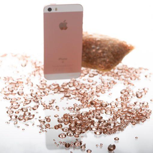 Diamond Confetti Rosegold