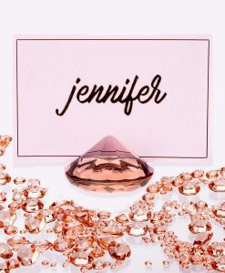 Diamond Place Card Holder Rosegold