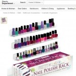 Pretty Display Nail Polish Rack Now Available on Amazon.com