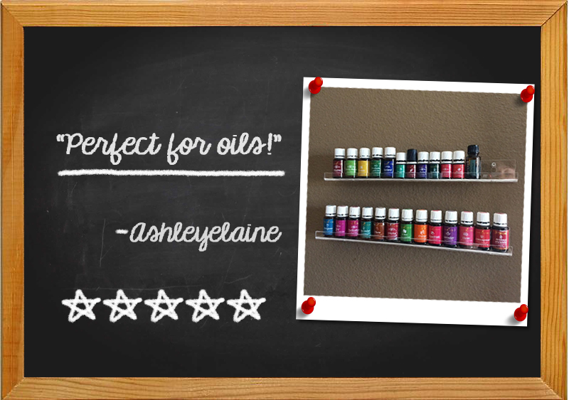 Pretty Display Nail Polish Racks Amazon Review from Ashleyelaine