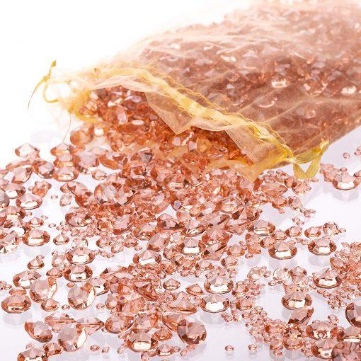 Table Confetti Rosegold