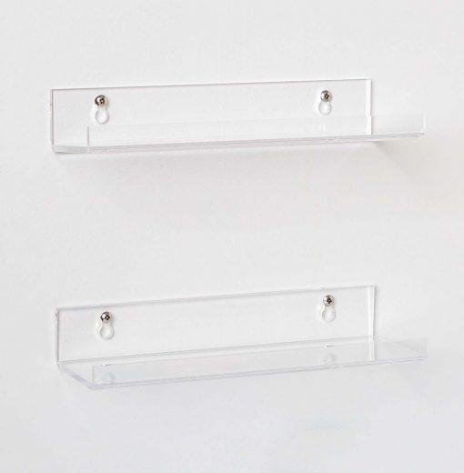 acrylic bathroom shelves affordable