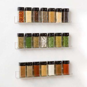acrylic spice rack affordable 1