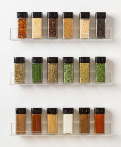 acrylic spice rack amazon