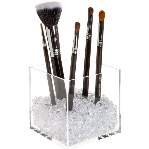 affordable makeup brush holder
