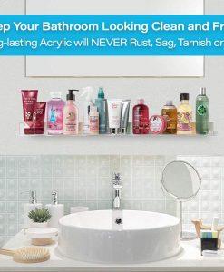 amazon bathroom shelves best buy