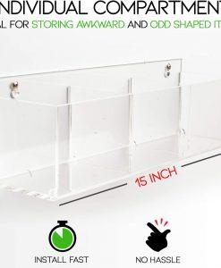 bathroom organizer acrylic