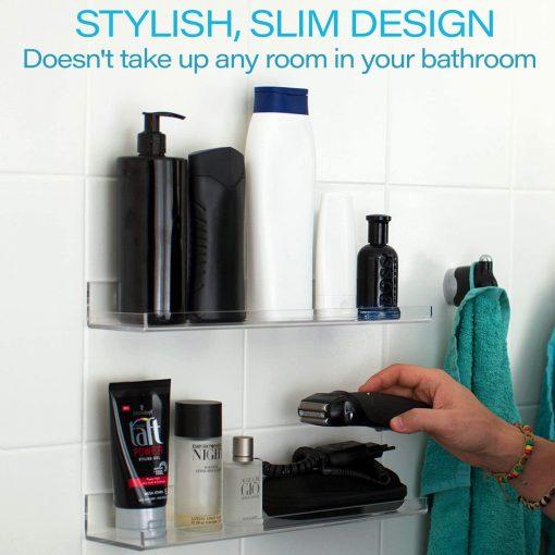 bathroom organizers acrylic