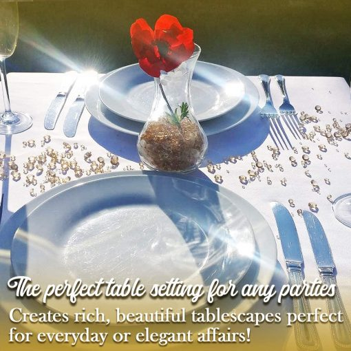 beautiful table confetti for weddings