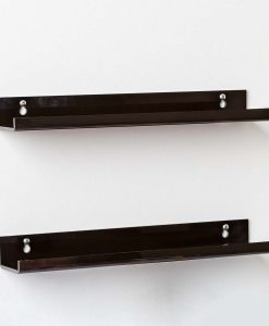 black acrylic bathroom racks 3
