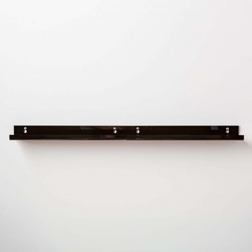 black acrylic bathroom racks affordable