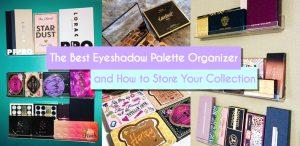 eyeshadow palette organizer