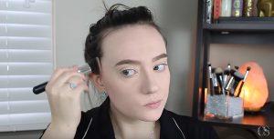 fall makeup contour