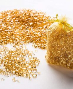 gold confetti diamonds