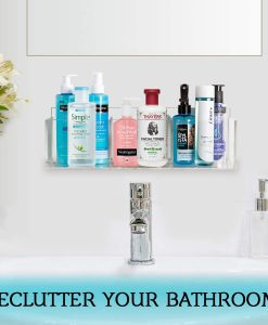 how to declutter bathroom