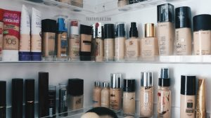 how to store foundation makeup