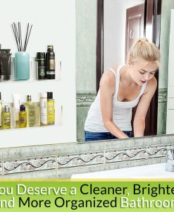 Invisible Bathroom Organizer