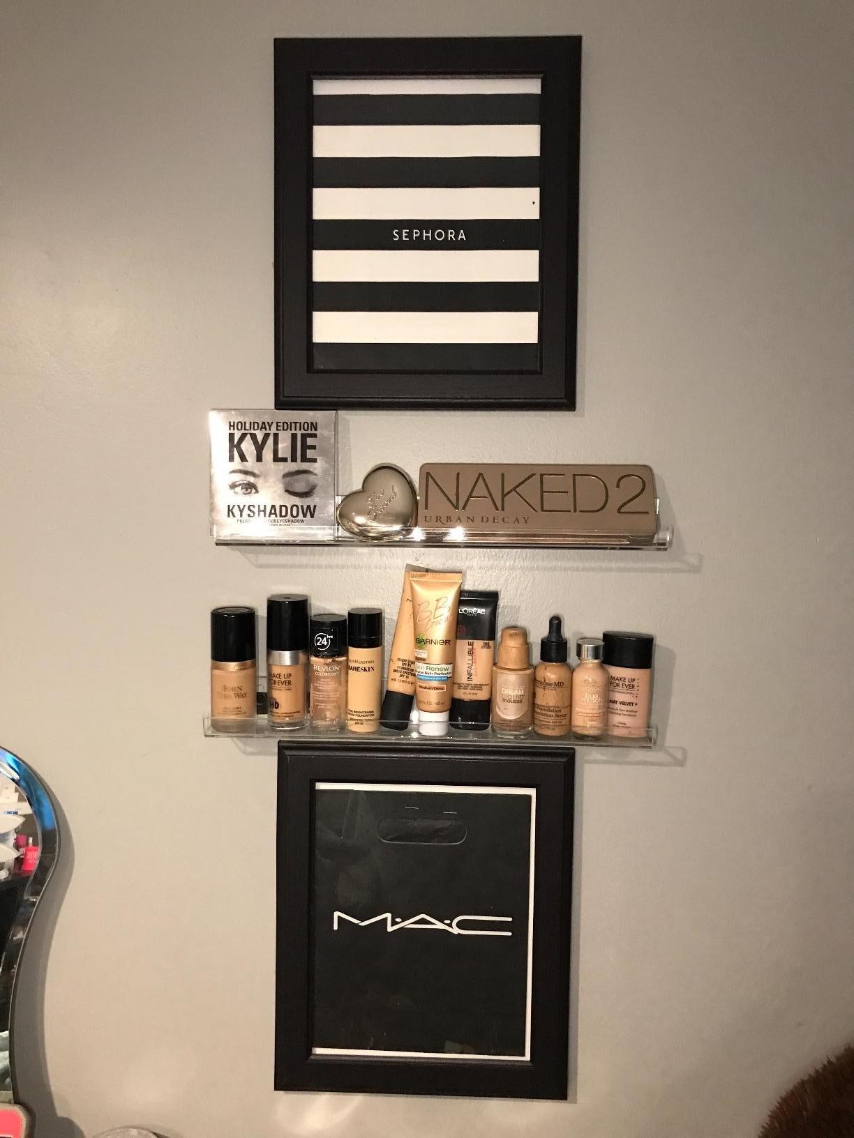 Luxury Makeup Collection Organization