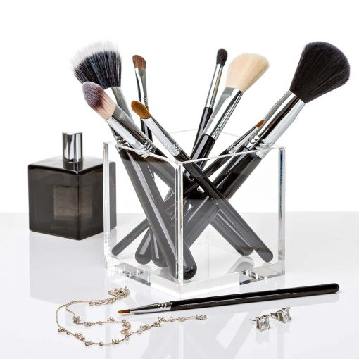makeup brushes and blender acrylic blender