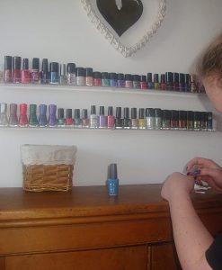nail polish racks amazon