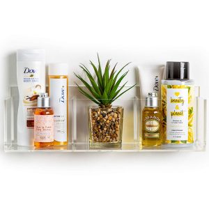 pretty display bathroom organizer