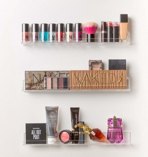 pretty display nail polish racks