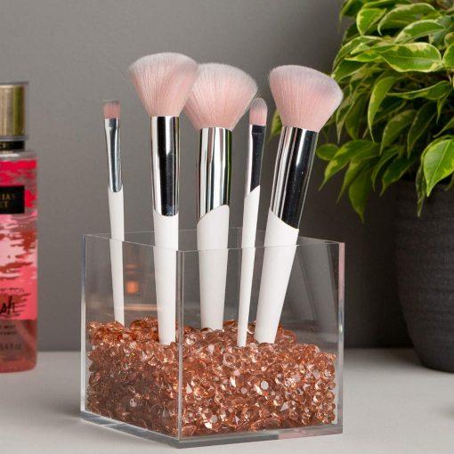 rosegold cosmetics organizer