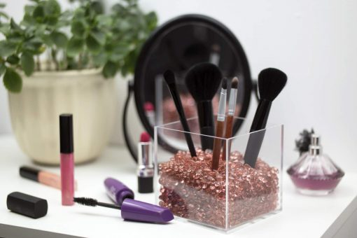 rosegold cosmetics organizer amazon
